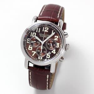 SEALANE(シーレーン) クォーツ式 SE48-LBR/腕時計