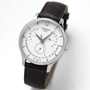 ティソ(TISSOT)トラディション パーペチュアルカレンダー T063.637.16.037.00 腕時計