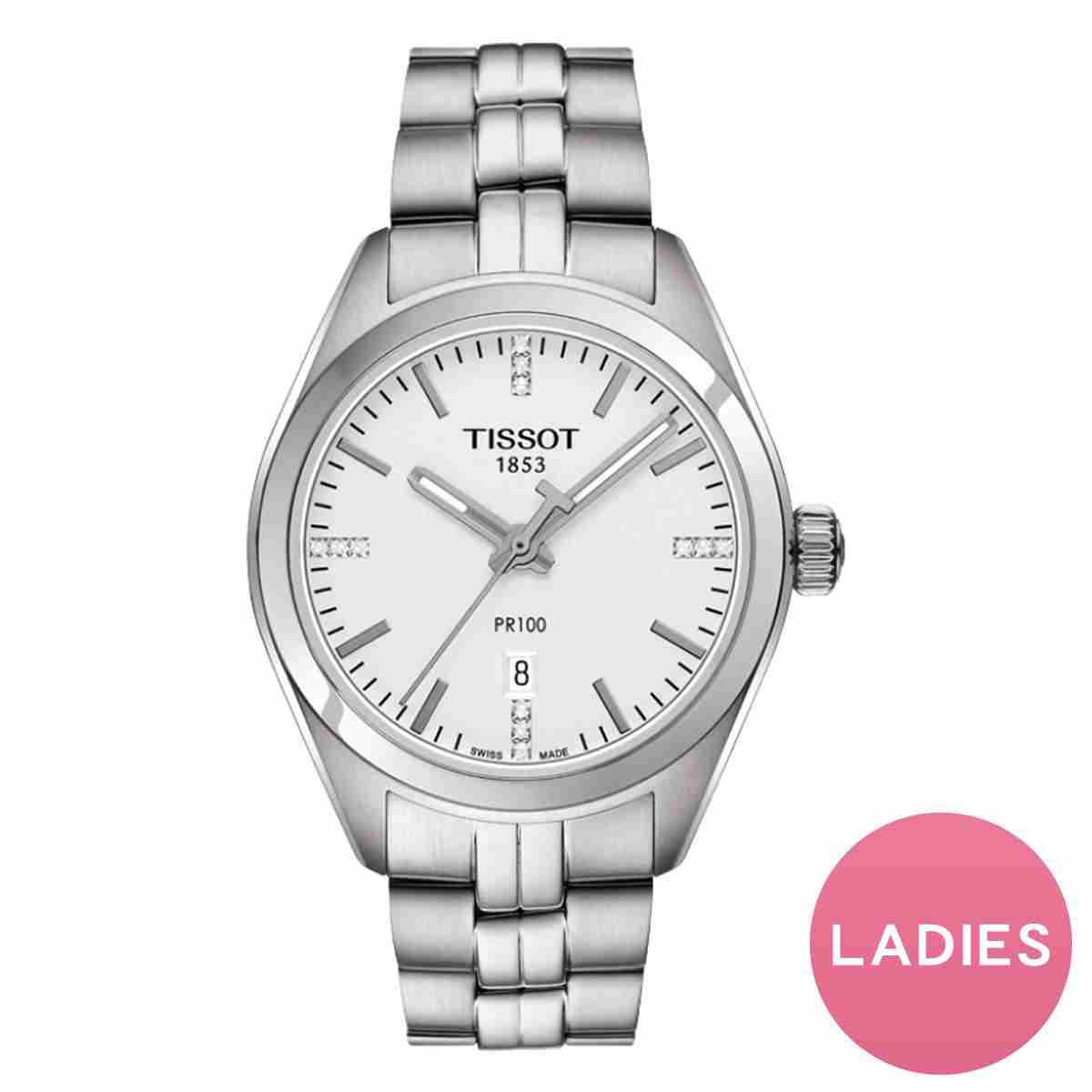 TISSOT(ティソ) PR100  クォーツ レディース T101.210.11.036.00 腕時計