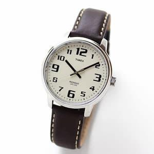 TIMEX(タイメックス)腕時計/ビッグイージーリーダー ブラウンレザー【T28201】