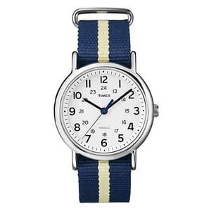 TIMEX(タイメックス)腕時計/ウィークエンダー セントラルパーク ネイビー×クリームT2P142