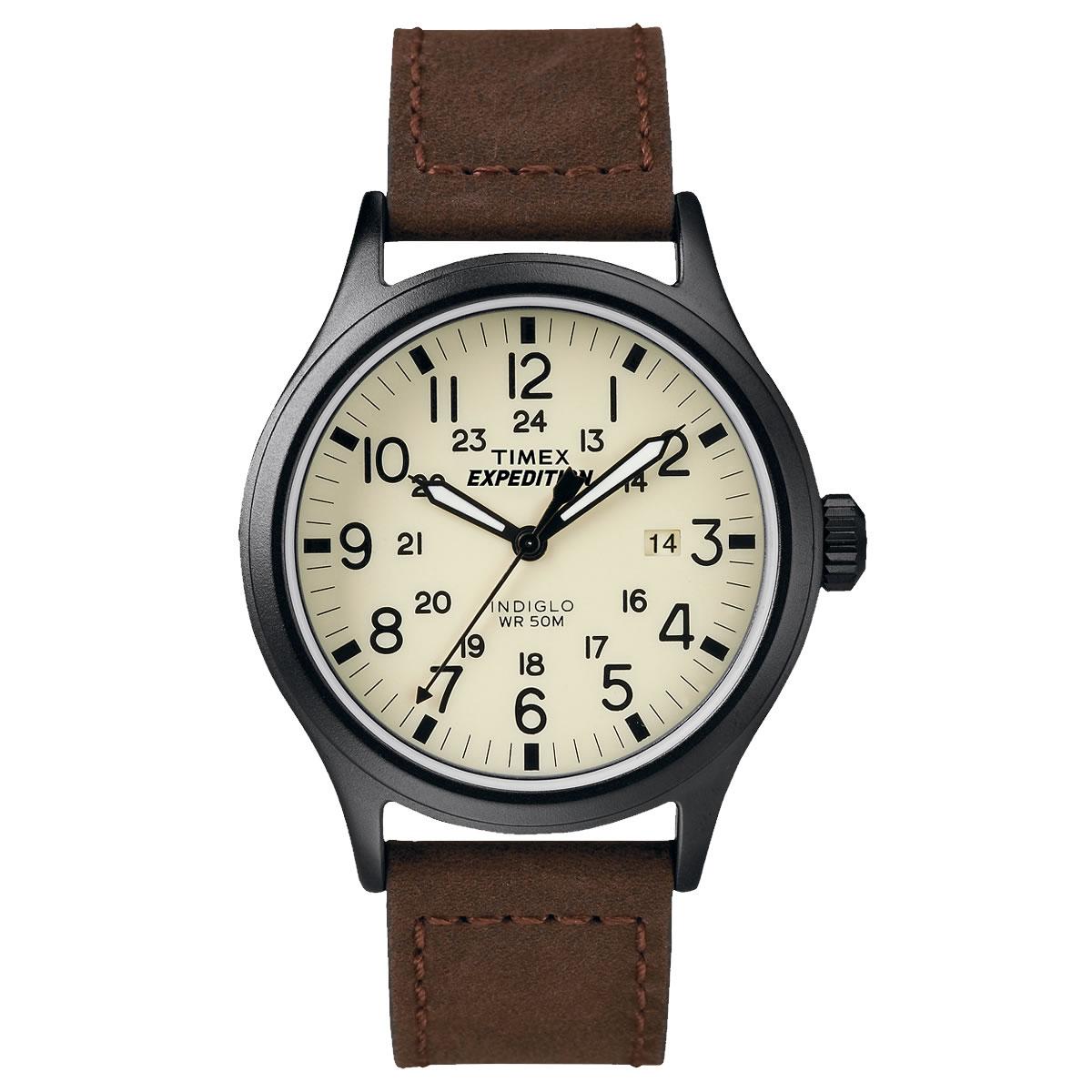 TIMEX(タイメックス)腕時計/エクスペディション・スカウトメタル/ブラウン T49963