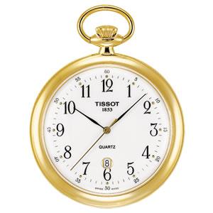 ティソ/TISSOT/オープンフェイス/クォーツ式/T82.4.550.12 懐中時計