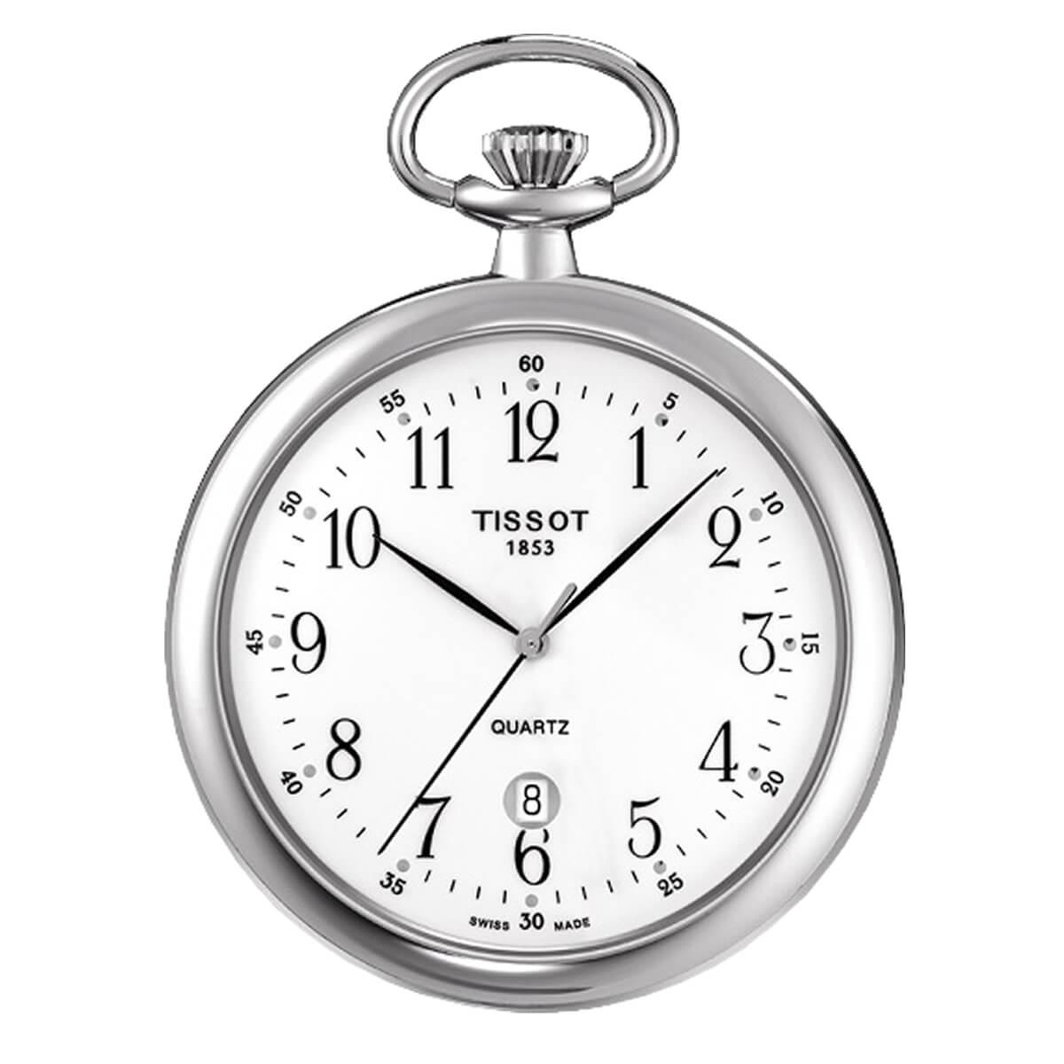 ティソ/TISSOT/オープンフェイス/クォーツ式/T82.6.550.12 懐中時計