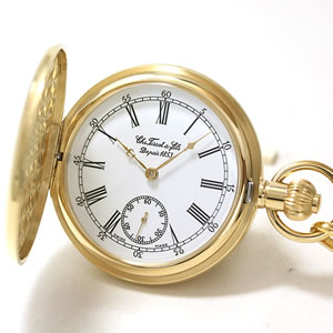 TISSOT/ハンターケース/手巻き式/T83.4.451.13 懐中時計