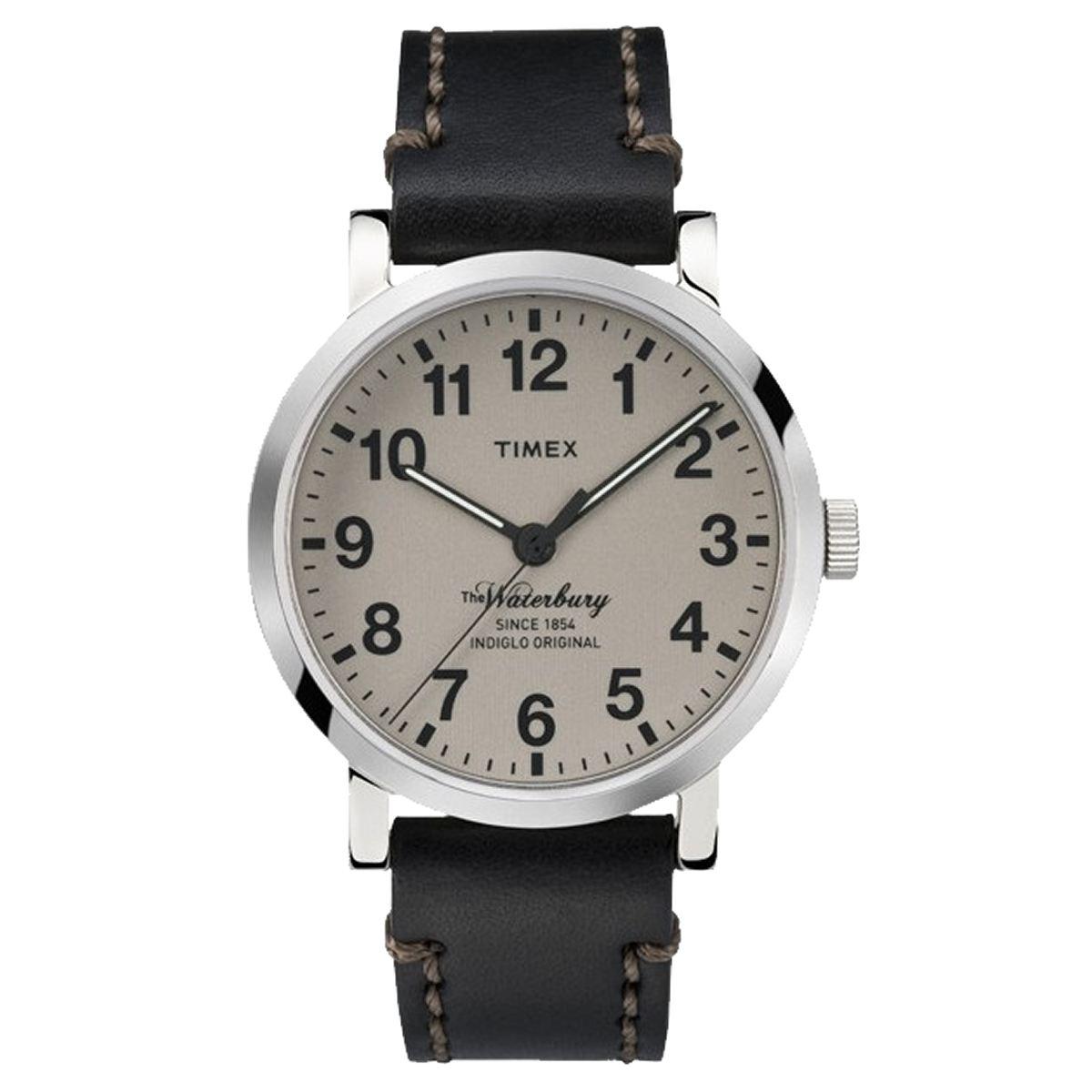 TIMEX(タイメックス)腕時計/ウォーターベリー/トープダイアル ブラックストラップ TW2P58800