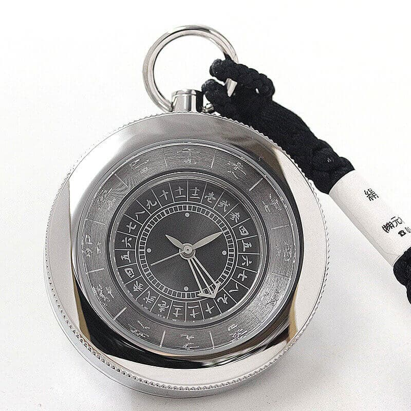 江戸之刻(エドノトキ) 令和版 懐中時計 10124 鈍色