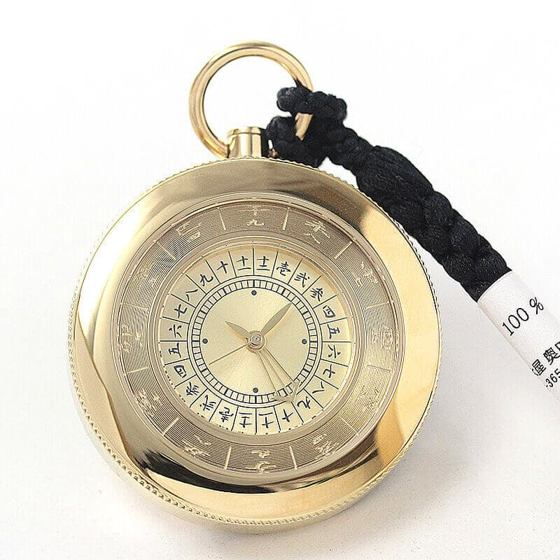 江戸之刻(エドノトキ) 令和版 懐中時計 10125 ゴールドカラー