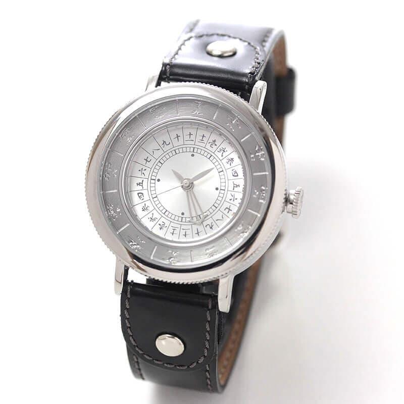 江戸之刻(エドノトキ) 令和版 10126 銀色 腕時計