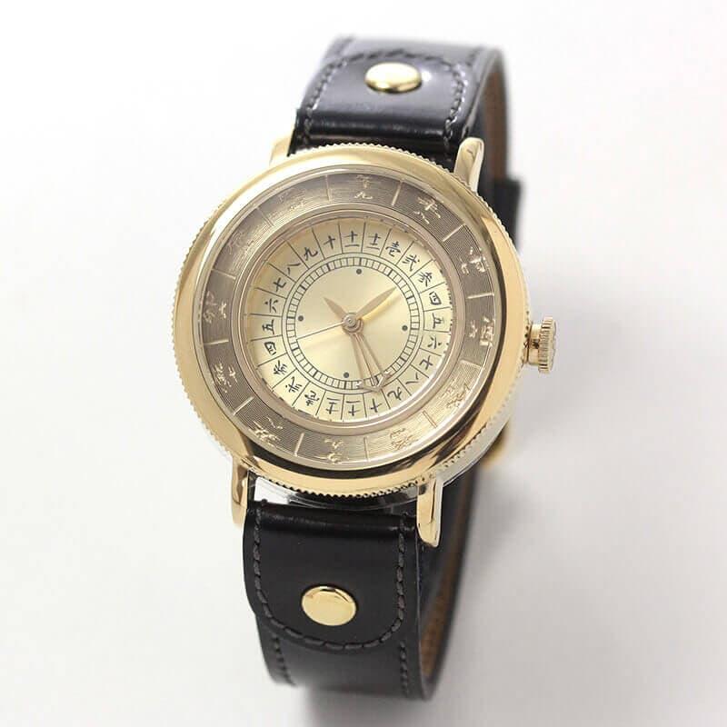 江戸之刻(エドノトキ) 令和版 10128 金色 腕時計