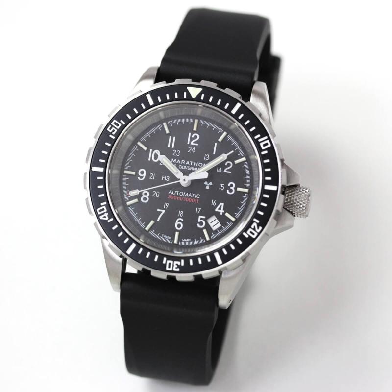 MARATHON(マラソン) GSAR(ジーサー) 自動巻き ダイバーズウォッチ 1024-0000301 腕時計