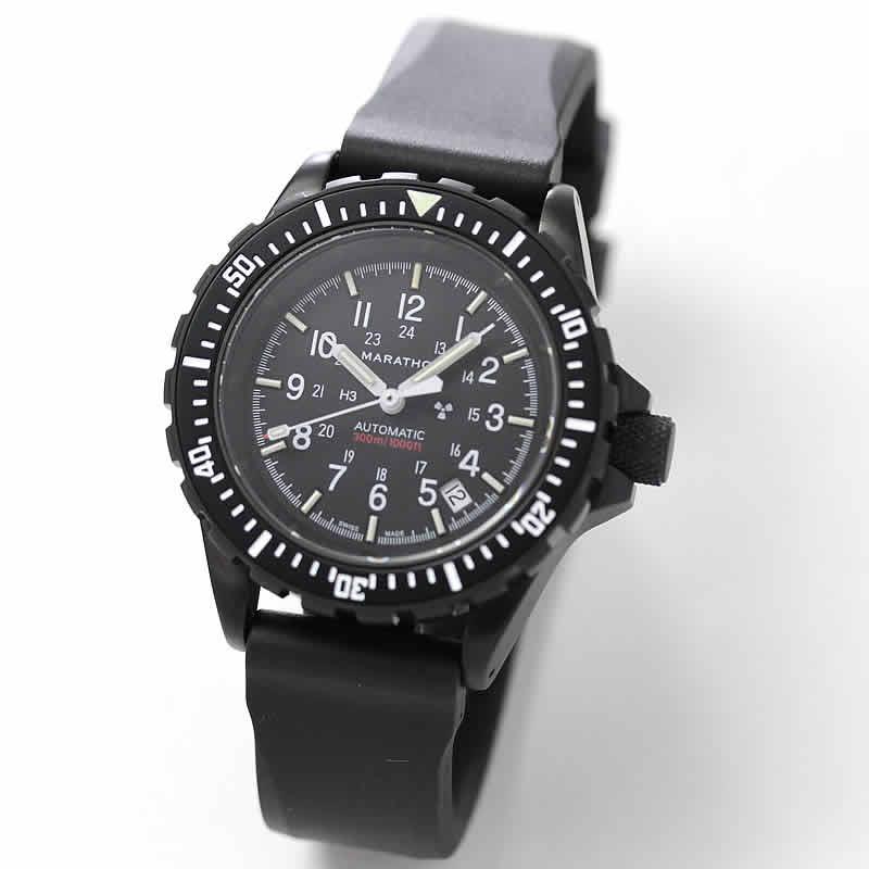 MARATHON(マラソン) GSAR(ジーサー)アンスラサイト  自動巻き ダイバーズウォッチ 1024-0000308 腕時計
