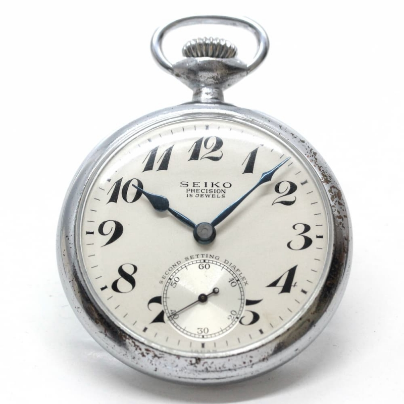 """""""現代のモデルと""""大幅なデザインが変わらないセイコー鉄道時計"""
