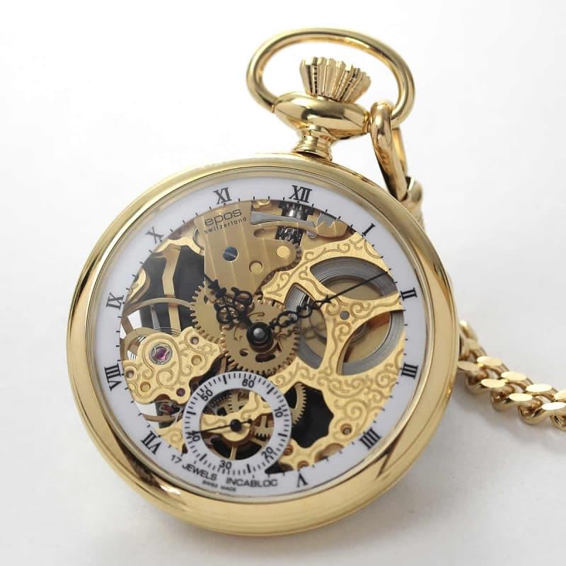 エポス(EPOS)/2003GP 手巻き式/懐中時計