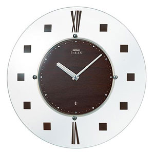 SEIKO EMBLEM セイコーエムブレム 電波掛け時計【グリーン購入法適応商品】【HS529B】