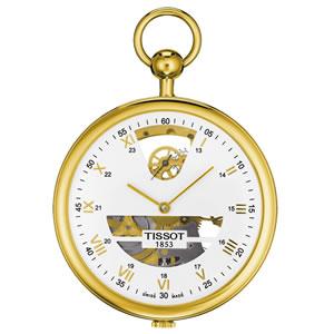 ティソ TISSOT スケルトン T82.4.604.33 懐中時計