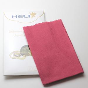 HELI ウォッチ&ジュエリークリーニングクロス ゴールド用磨き布
