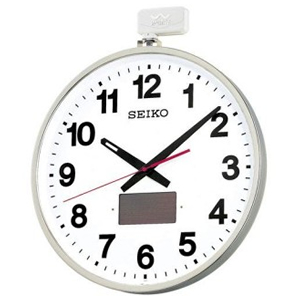 SEIKO セイコー 屋外用ソーラー電波壁掛け時計【SF211S】