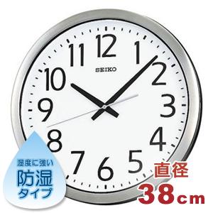 SEIKO セイコー 防湿・防塵クロック【グリーン購入法適応商品】【KH406S】