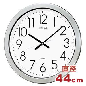 SEIKO セイコー 大型防湿・防塵クロック【グリーン購入法適応商品】【KH407S】