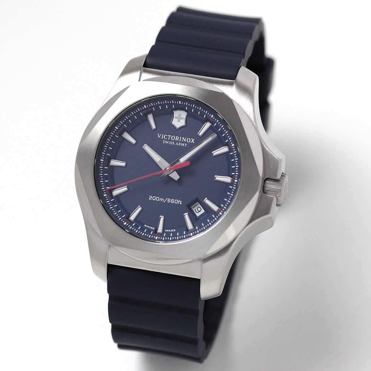 ビクトリノックススイスアーミー I.N.O.X. (イノックス) ラバーベルト/ブルー 241688.1 腕時計