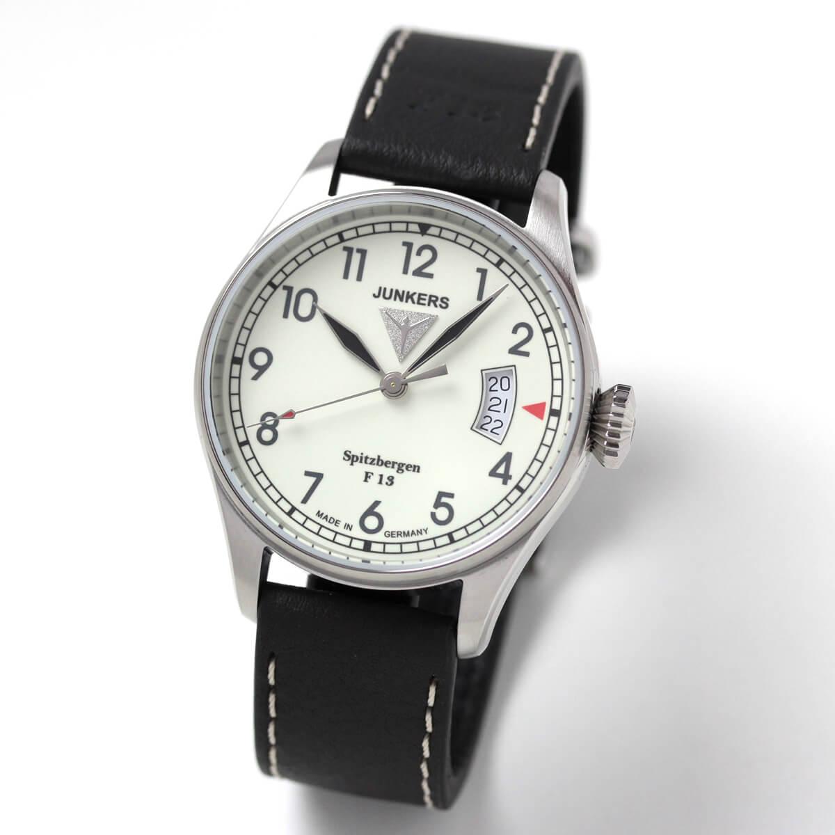 JUNKERS(ユンカース)/スピッツベルゲン F13 クォーツ 6170-5QZ/腕時計