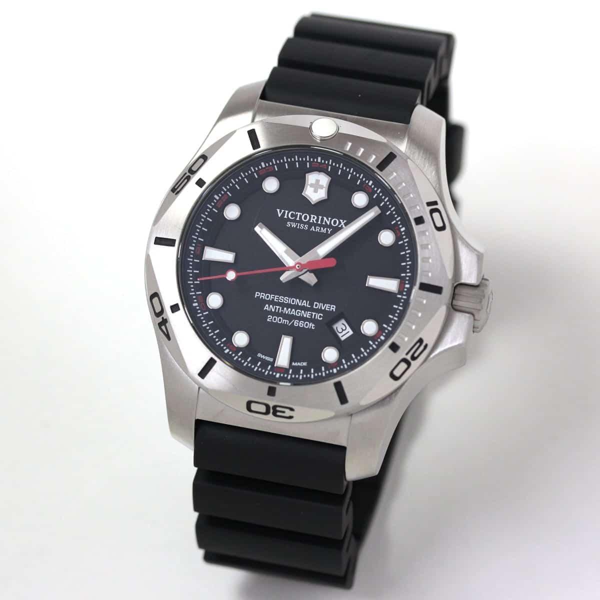 ビクトリノックススイスアーミー I.N.O.X. (イノックス) プロフェッショナルダイバー 241733 ブラック 腕時計