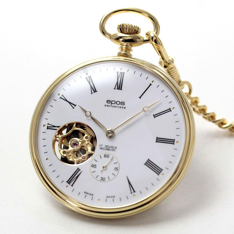 エポス(EPOS)/懐中時計 2090GPWH 手巻き式