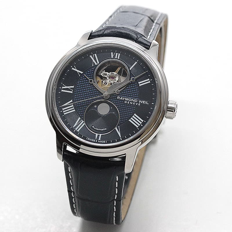 レイモンドウェイル マエストロ(MAESTRO)日本限定モデル ブルー 2240-STC-J0508 腕時計