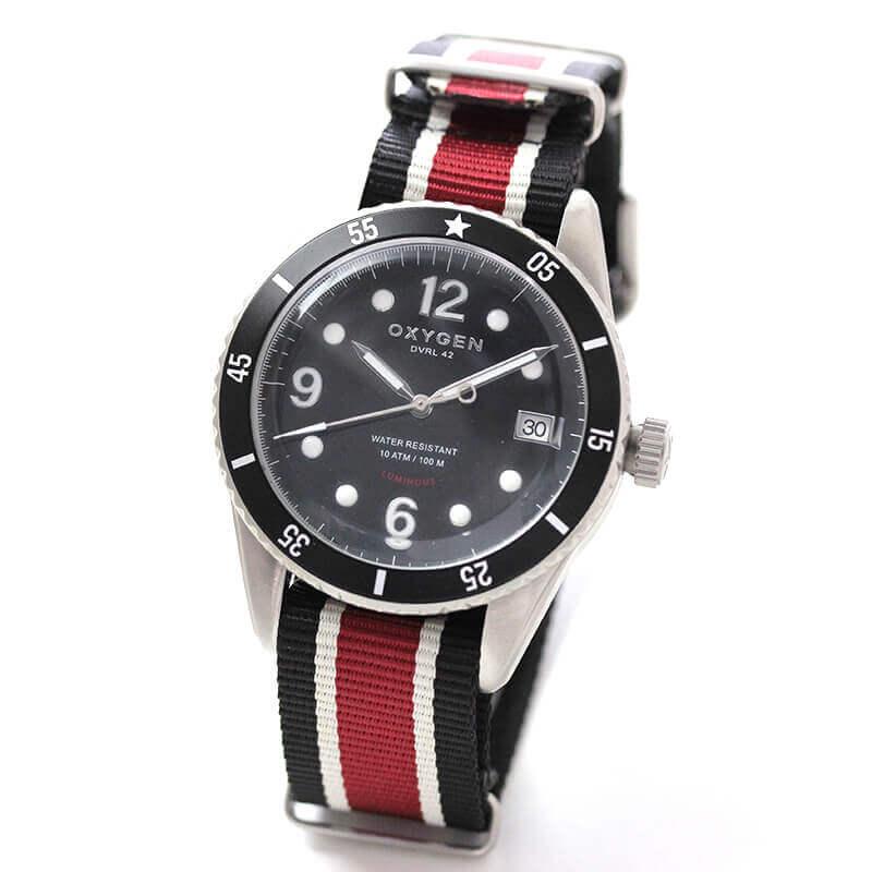 オキシゲン(OXYGEN) ダイバー42 ベンガル 224326 クオーツ 腕時計