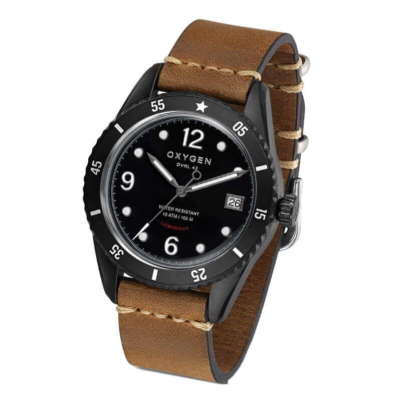 オキシゲン(OXYGEN) Diver 42 Timor 224327 クオーツ 腕時計
