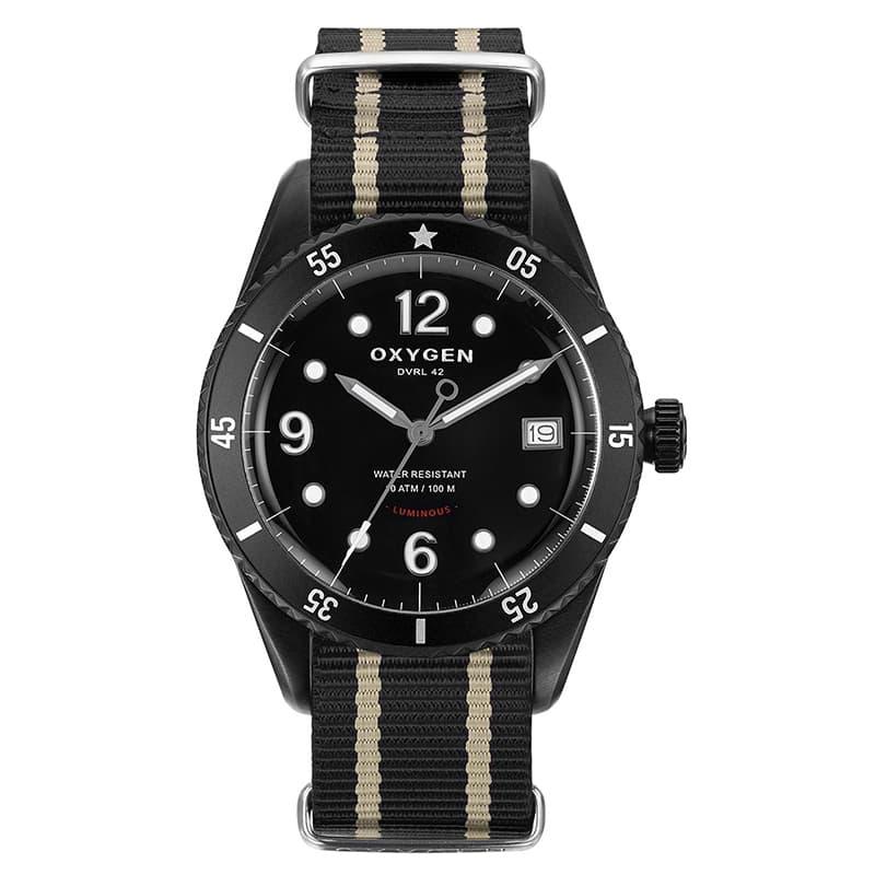 オキシゲン(OXYGEN) ダイバー レジェンド42 888本限定 L-D-ALA-42 クオーツ 224328 腕時計