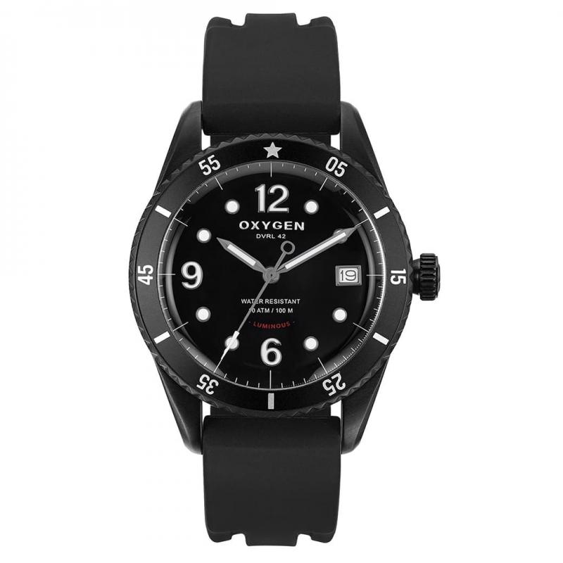 オキシゲン(OXYGEN) ダイバー レジェンド42 888本限定 L-D-CEL-42 クオーツ 224329 腕時計