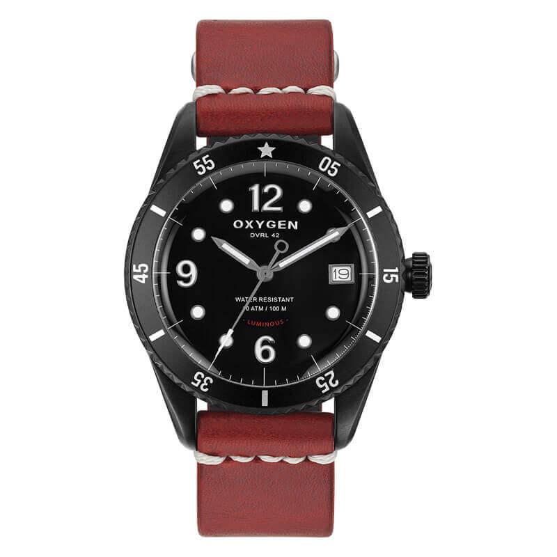 オキシゲン(OXYGEN) Diver 42 Flores 224330 クオーツ 腕時計