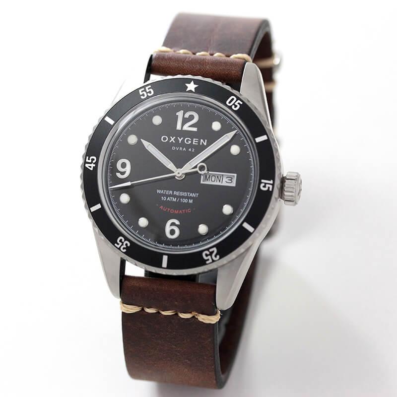 オキシゲン(OXYGEN) ダイバーレジェンド 42 EX-A-42-VL-DB メンズ 自動巻き 腕時計