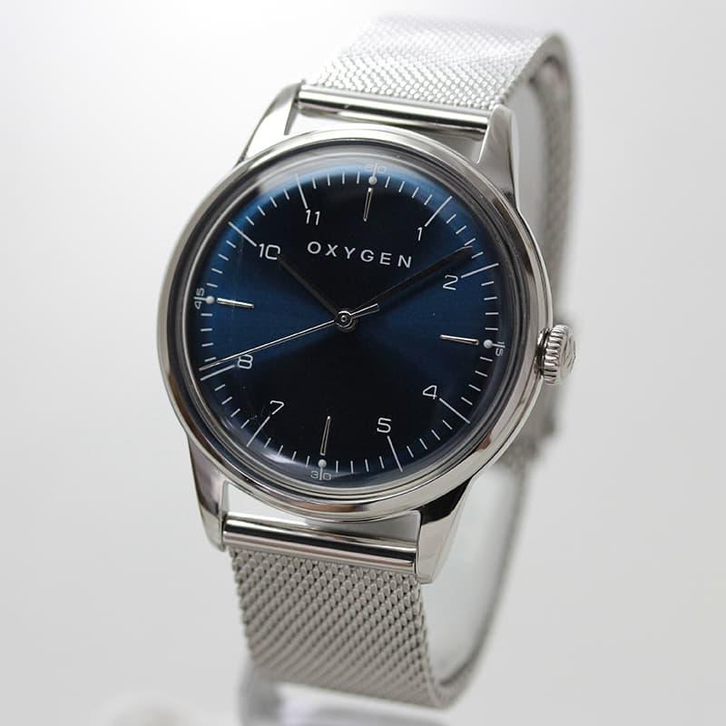 オキシゲン(OXYGEN) シティ 36 L-C-KAR-36M クオーツ ボーイズ ブルー 腕時計