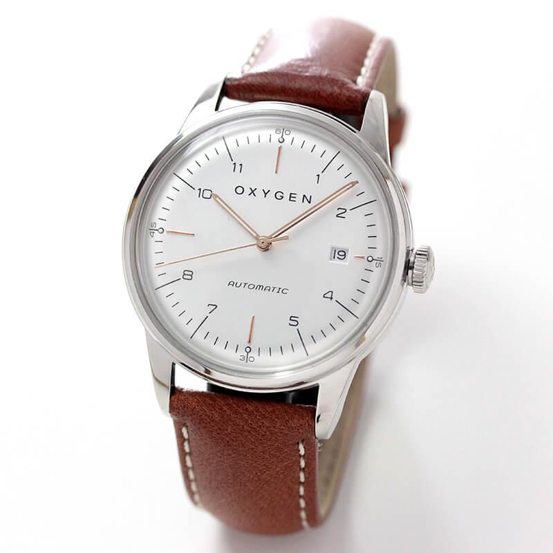 オキシゲン(OXYGEN) シティレジェンド 40 オートマチック L-CA-MAR-40 メンズ 自動巻き 腕時計