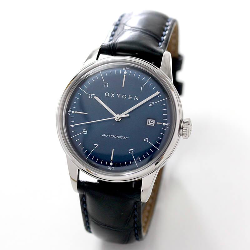 オキシゲン(OXYGEN) シティレジェンド 40 L-CA-KAR-40 メンズ 自動巻き 腕時計