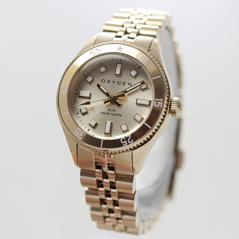 オキシゲン(OXYGEN) LEGEND Diver Minii L-DM-SIR-26 女性用 腕時計