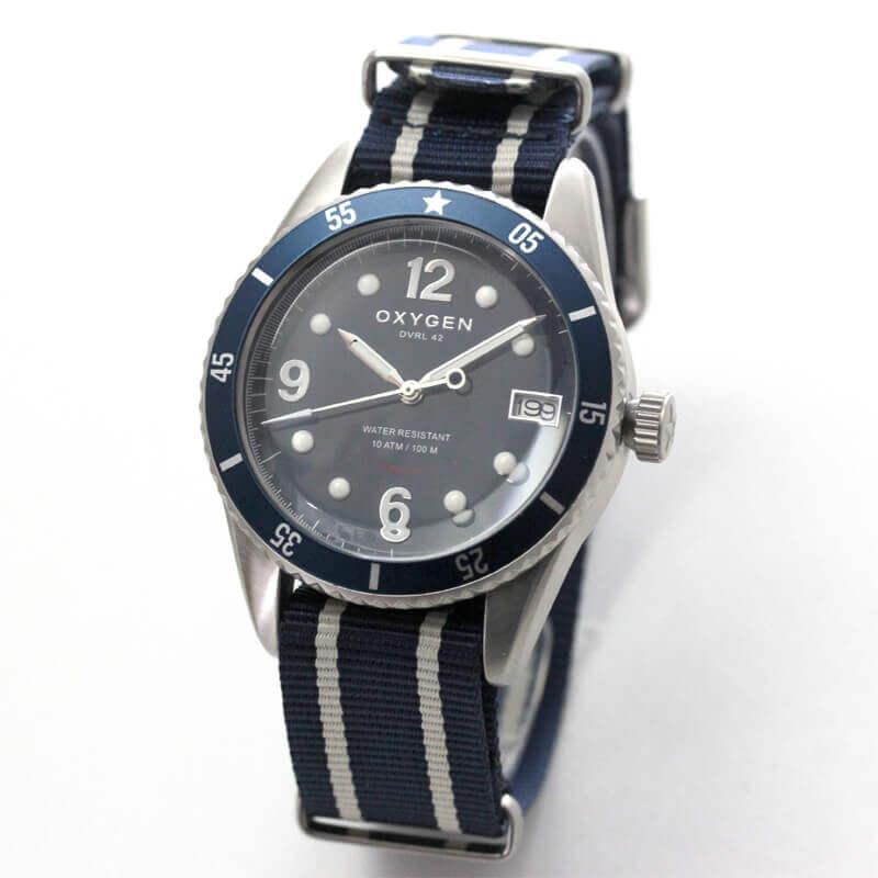 オキシゲン(OXYGEN) ダイバー42 日本限定 L-DIV-42-NS クオーツ 224367 腕時計