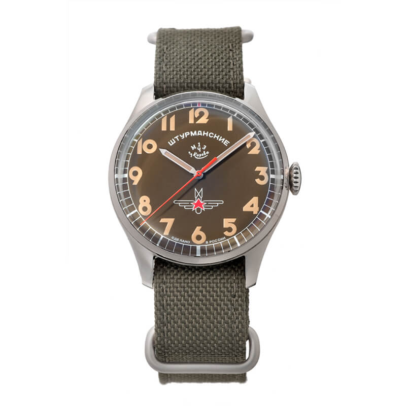 STURMANSKIE シュトゥルマンスキー ガガーリン アニバーサリーモデル 2416-3805145 世界2000本限定 スモーキーグリーン 腕時計