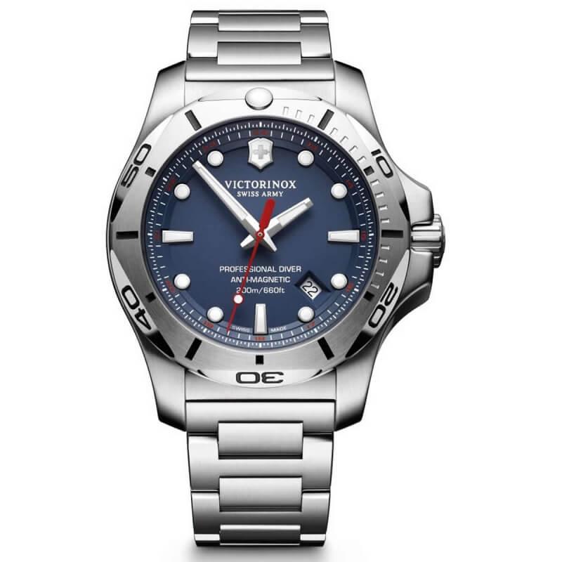 ビクトリノックススイスアーミー I.N.O.X. (イノックス) プロフェッショナルダイバー 241782 ブルー ステンレスベルト 腕時計