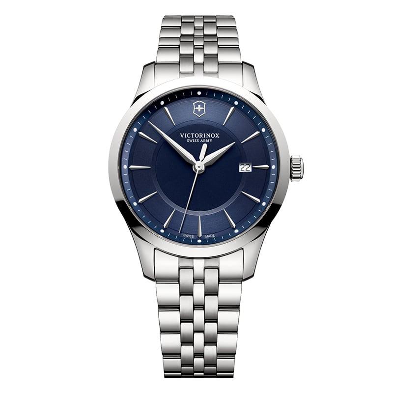 ビクトリノックススイスアーミー/アライアンス 241802/ブルーダイヤル/ステンレスベルト/腕時計