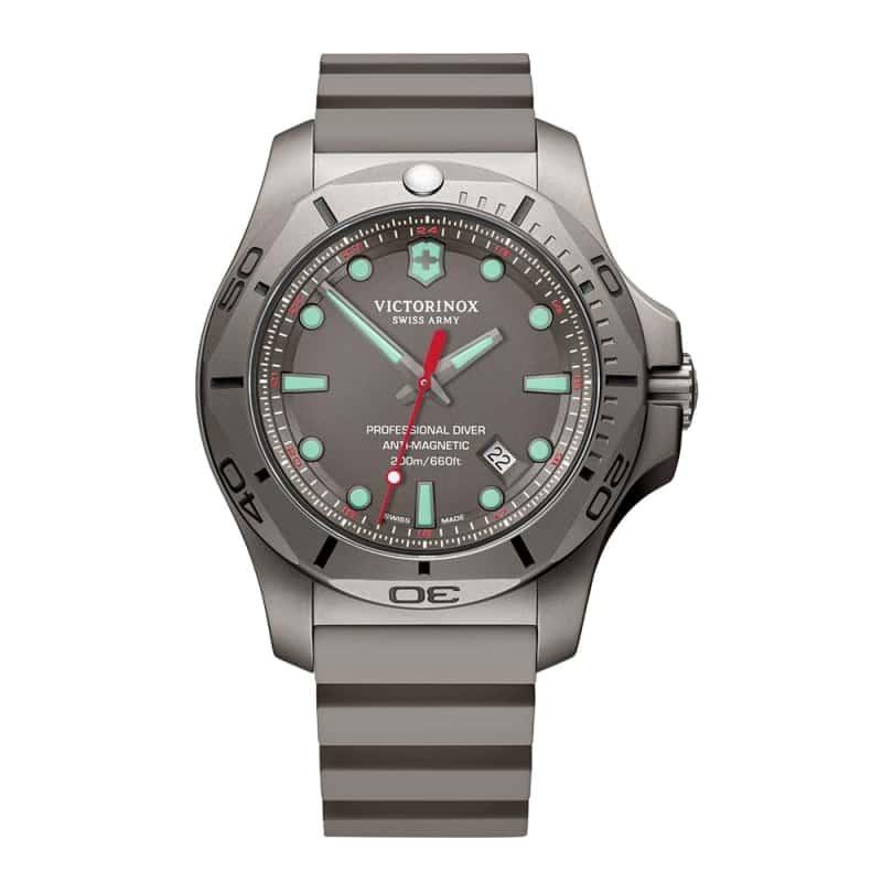 ビクトリノックススイスアーミー I.N.O.X. (イノックス) プロフェッショナルダイバー チタニウム /グレー/ 241810 腕時計