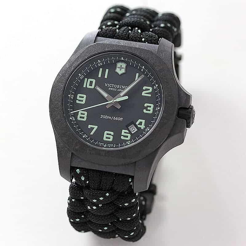 VICTORINOX(ビクトリノックス) I.N.O.X. CARBON(イノックス カーボン) 241859 ブラック 腕時計