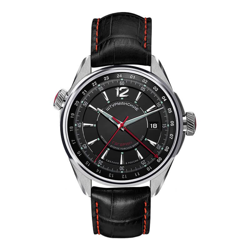 STURMANSKIE シュトゥルマンスキー ガガーリン 24時間付き 2426-4571144 ブラック 腕時計