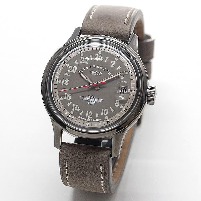 シュトゥルマンスキー(STURMANSKIE)/OPEN SPACE 24 HOURS  24時間時計パーベルバリャコフモデル 自動巻き/2431-1760940 腕時計
