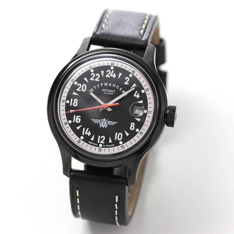 シュトゥルマンスキー(STURMANSKIE)/OPEN SPACE 24 HOURS  24時間時計パーベルバリャコフモデル 自動巻き/2431-1764937 腕時計