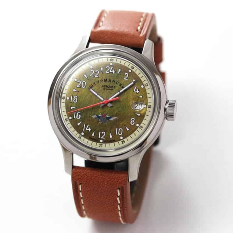 シュトゥルマンスキー(STURMANSKIE)/OPEN SPACE 24 HOURS  24時間時計パーベルバリャコフモデル 自動巻き腕時計/2431-1765938
