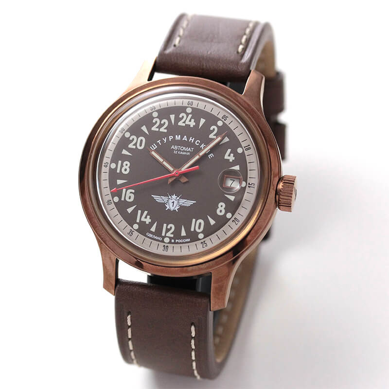 シュトゥルマンスキー(STURMANSKIE)/OPEN SPACE 24 HOURS  24時間時計パーベルバリャコフモデル 自動巻き/2431-1768939 腕時計